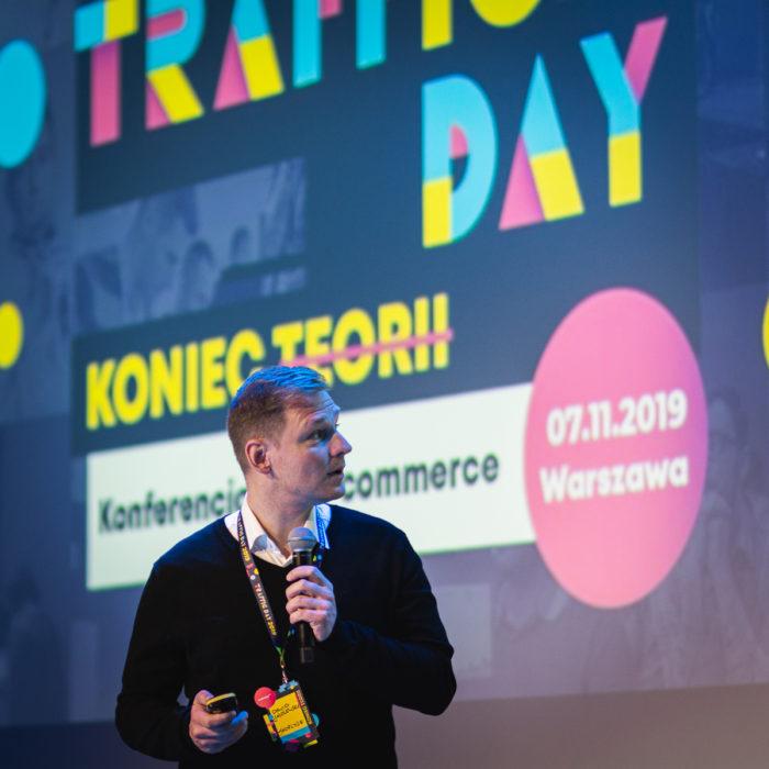 Dawid Jażdżewski na TrafficDay 2019